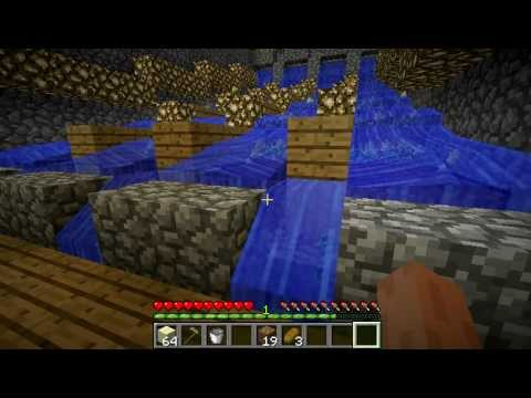 Minecraft Micro Presentations - Automatic Wheat Farm