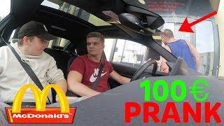 McDonalds PRANK | 100 EURO BESTELLUNG | MITARBEITER DROHT MIT POLIZEI 🚔