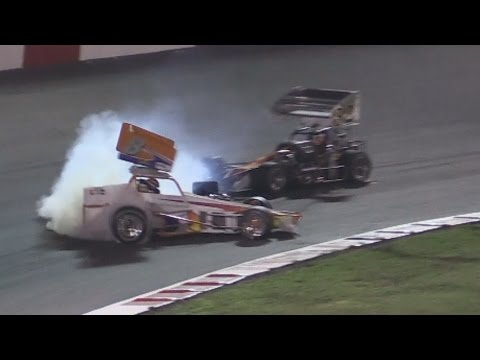 WILD Super Modified Finish - Madera Speedway