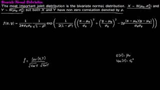 Prob 7 5 Bivariate Normal Distribution