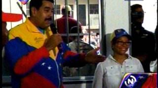 Presidente Maduro supervisa construcción de viviendas en Cojedes