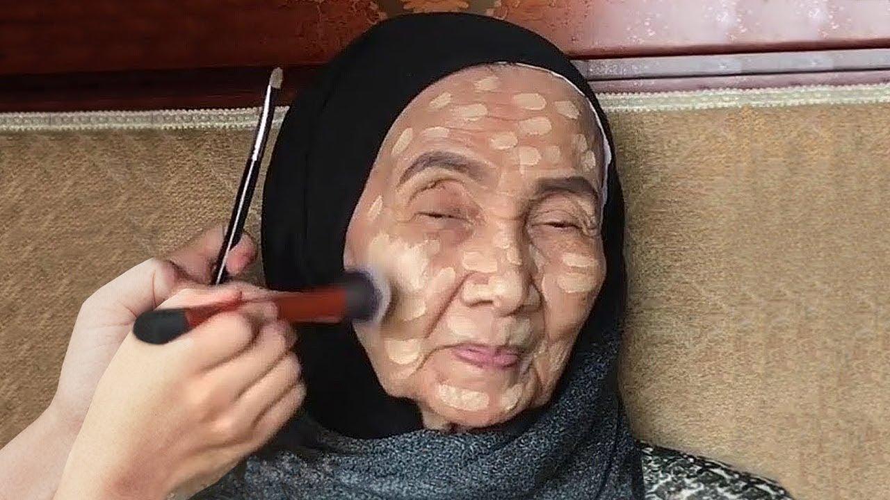 لن تصدق كيف تغيرت امرأة تبلغ من العمر 93 عاما بعد وضع مساحيق التجميل !