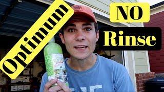 Optimum No Rinse Wash and Wax: Rinseless Car Wash!