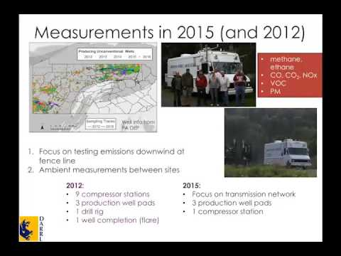 Natural Gas Pipeline Methane Leaks  Air sampling and technology review findings