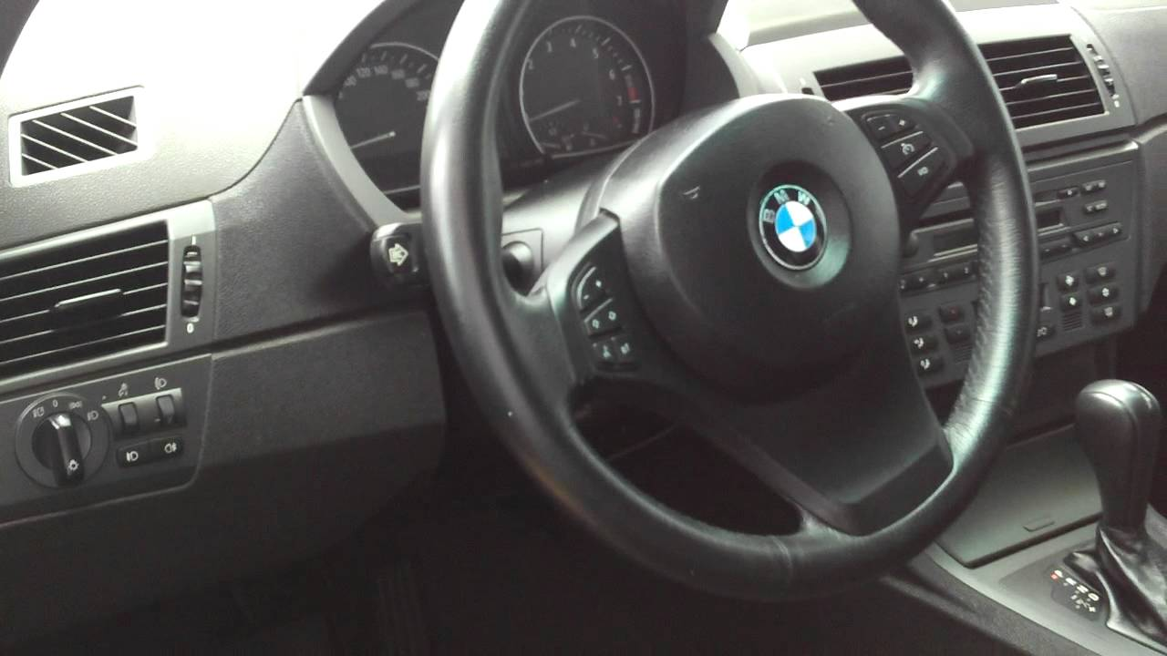 BMW X3 2005 - YouTube