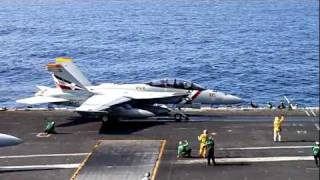 USS Abraham Lincoln Tiger Cruise 2011 - Flight Ops (Part 2), Carrier Take-Offs