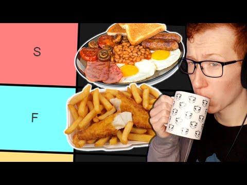 The ULTIMATE British Food Tier List