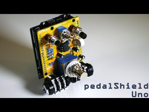 PedalShield Uno: An Arduino Guitar Pedal 🎸