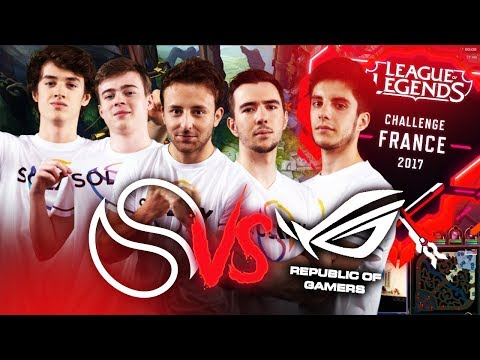SOLARY VS ASUS ROG - Challenge France 2017 #6