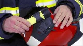 feuerwehrhelm drger hps 7000 anbringung und einstellung des zubehrs