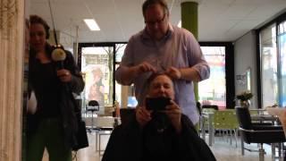 Radio 4 bij kapsalon Headmatters, Groningen
