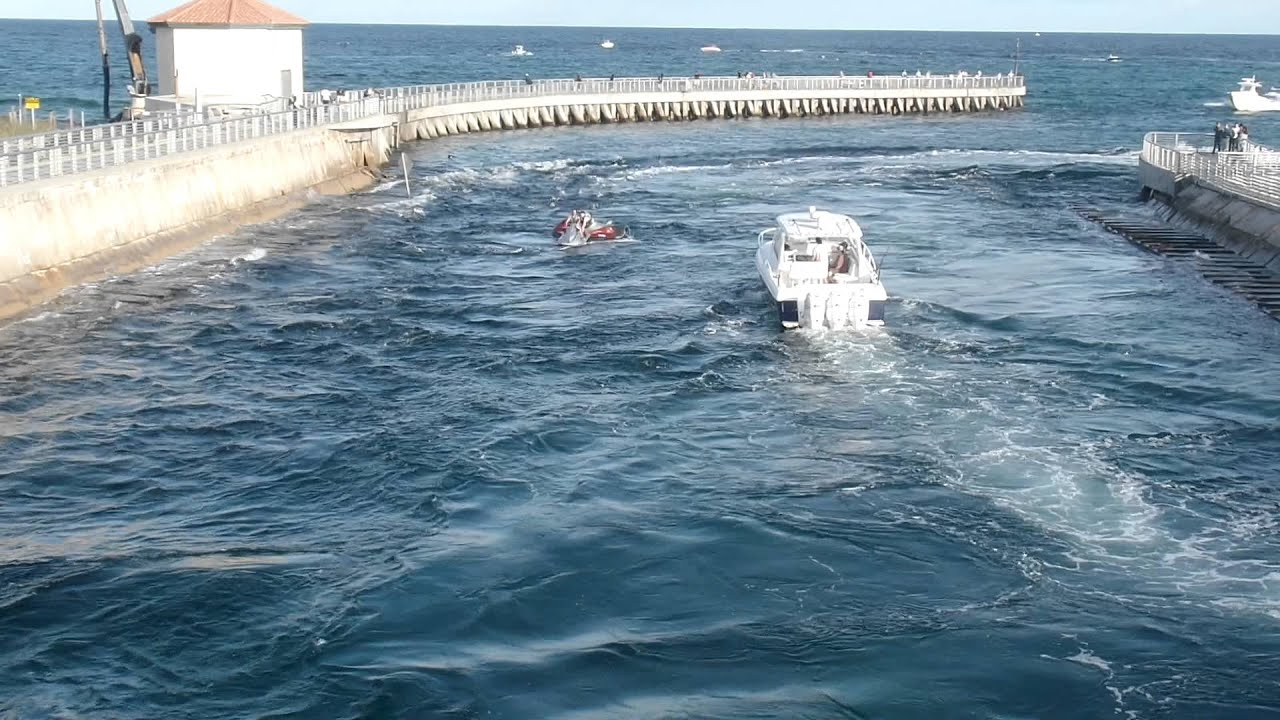 Tradegy Averted Near Miss In Boynton Beach Inlet Disabled Jet Ski Almost Run Over You
