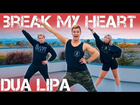 Dua Lipa – Break My Heart | Caleb Marshall | Dance Workout