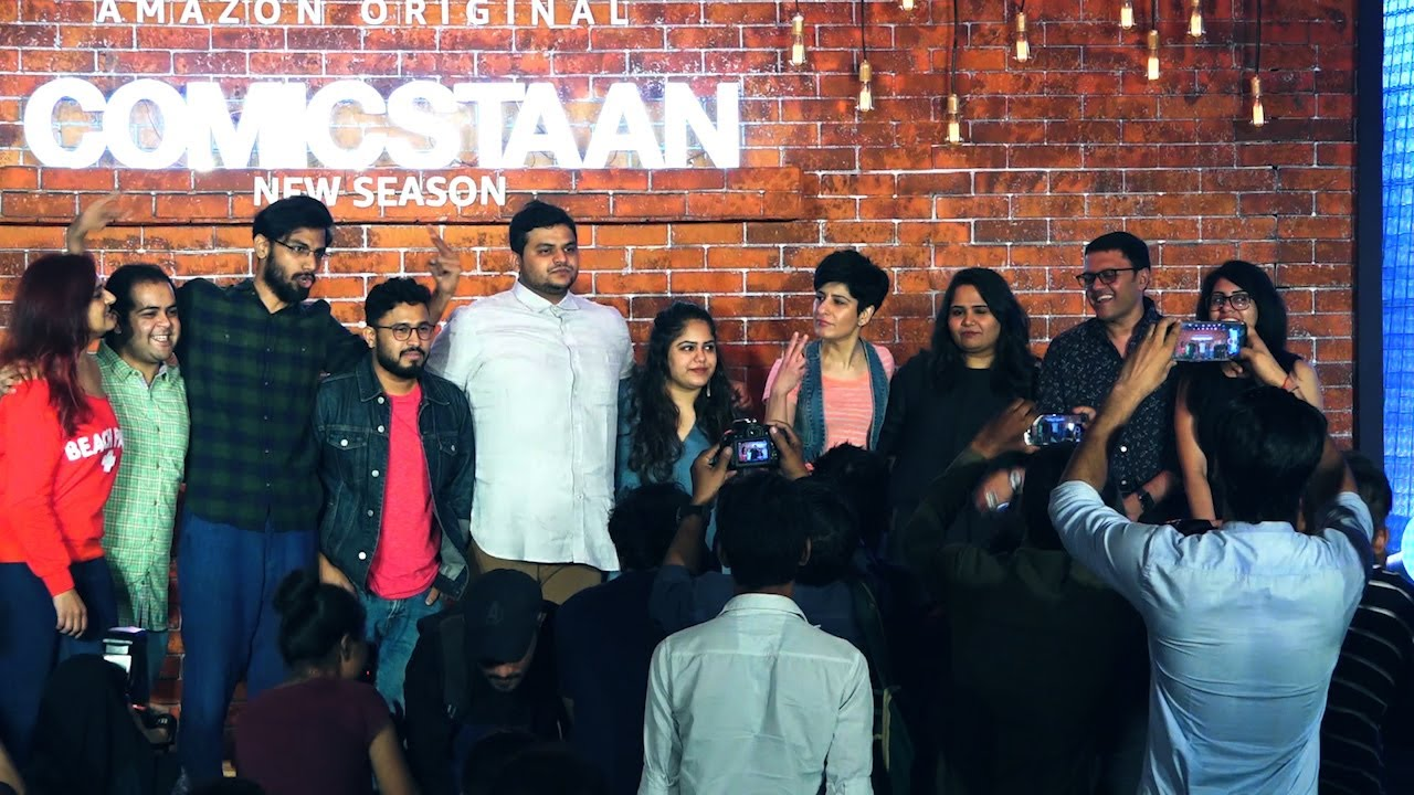 Amazon Prime video releases Comicstaan season 2 trailer