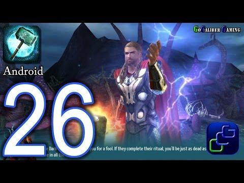Thor: The Dark World - The Official Game Android Walkthrough - Part 26 - Svartalfheim: 73-77