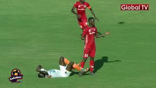GOLI la Chama na Okwi Kipindi cha Kwanza SIMBA VS STAND 3-0