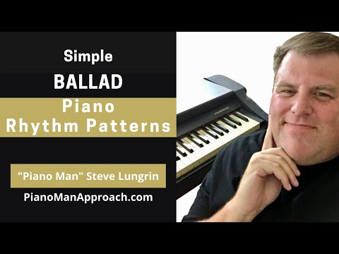Become Your Own Rhythm Section Series: Ballad Rhythm Pattern #1 & Variations