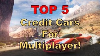 Asphalt 8 Multiplayer - TOP 5 CREDIT Cars and their BEST Rankings! [WIth a Very Special Guest]