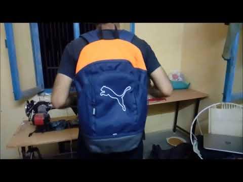 Удобный рюкзак puma, выполненный в спортивном стиле. Функциональность помимо основного отделения предусмотрен передний карман на.