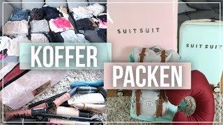 KOFFER PACKEN | Ich packe meinen Koffer für 1 JAHR USA | au pair vlog #15