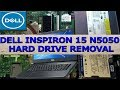 Dell Inspiron 15  N5050 Hard Drive Replacement #kottakkal iT