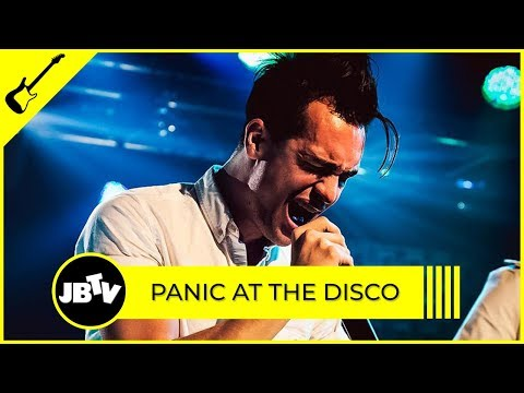 Panic At The Disco - The Ballad Of Mona Lisa   Live @ JBTV
