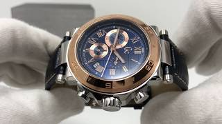 GC Chronograph Watch Sport Chic Collection Rose Gold X90015G7S