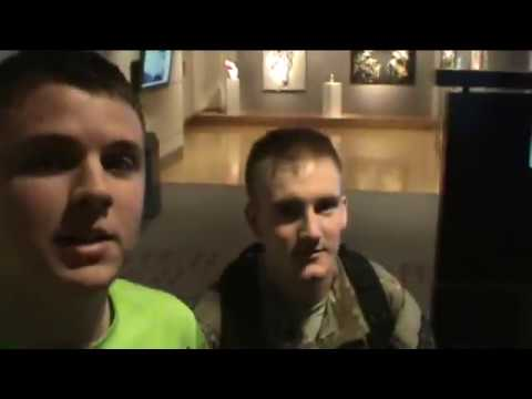 Soldier Surprises Mom, Dad, Sister & Nephew One by One!!