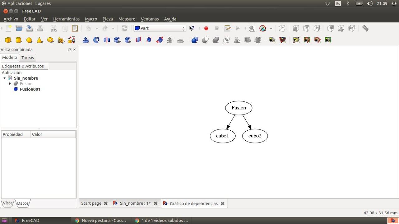 Tutorial freecad 8 complemento graphviz en ubuntu youtube tutorial freecad 8 complemento graphviz en ubuntu ccuart Choice Image