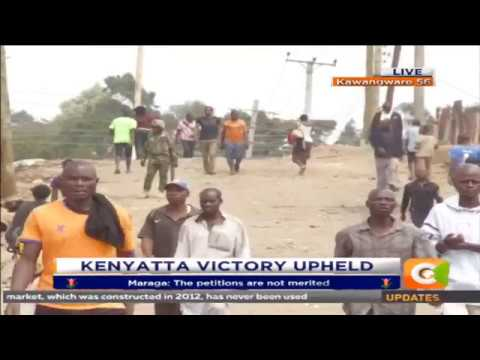 Situation in Kawangware after Supreme court verdict