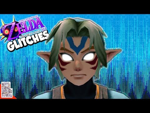 Spooky Mask Time! - Glitches in Majora's Mask (N64 & 3DS)- DPadGamer