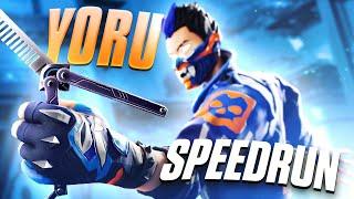 Yoru SPEEDRUN (Full Series) Valorant