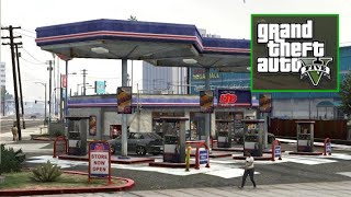 Grove Street Gas Station Challenge - GTA 5