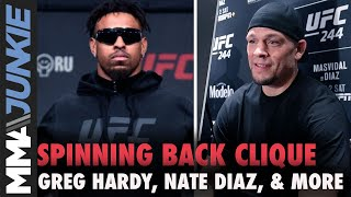 Spinning Back Clique -  Greg Hardy, Nate Diaz, and more