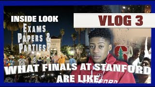 WHAT FINALS AT STANFORD ARE LIKE [VLOG #3]