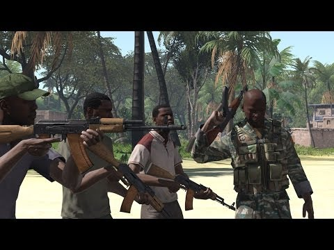 Metal Gear Solid 5 Trailer - Arma 3 Remake