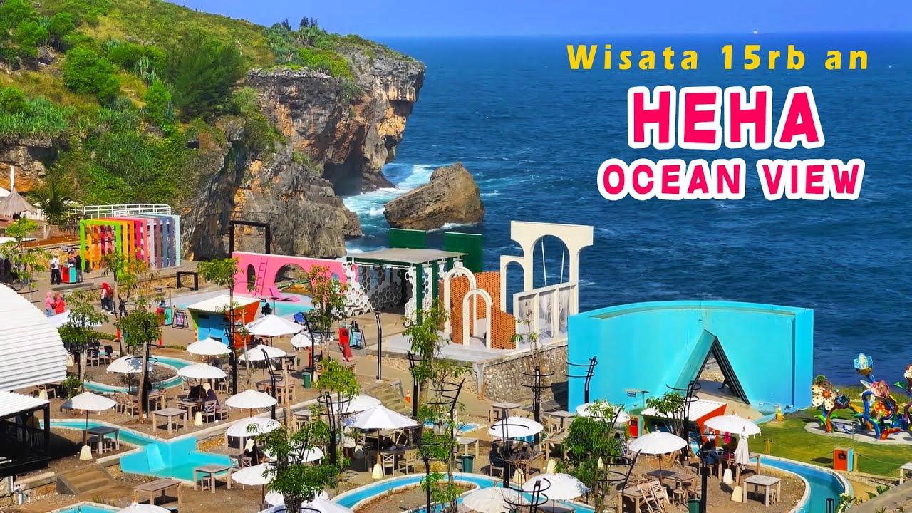 Wisata Bagus Pinggir Pantai Jogja | Heha Ocean View Review Terkini | Tiket Masuk Murah
