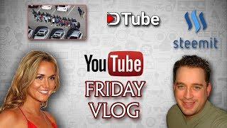 The BuzWeaver Channel Friday Vlog February 16th | Just Survive | Vanessa Trump | Steemit DTube |