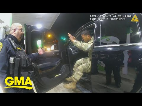 Police-officers-pepper-spray-Army-officer-during-traffic-stop