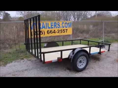 5x8 utility trailer single axle for sale in Alabama