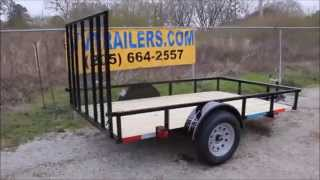 5x8 Utility Trailer Single Axle For Sale In Alabama