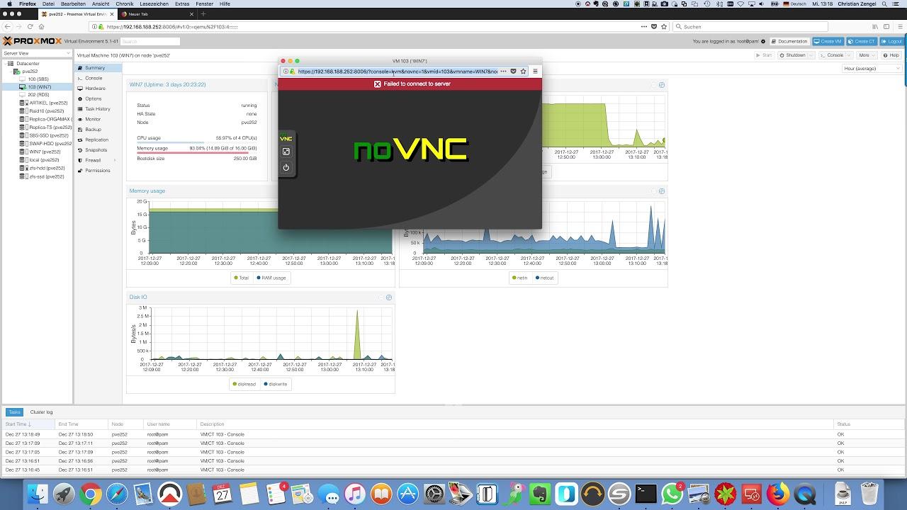 NoVNC Problem 5 1-32 | Proxmox Support Forum
