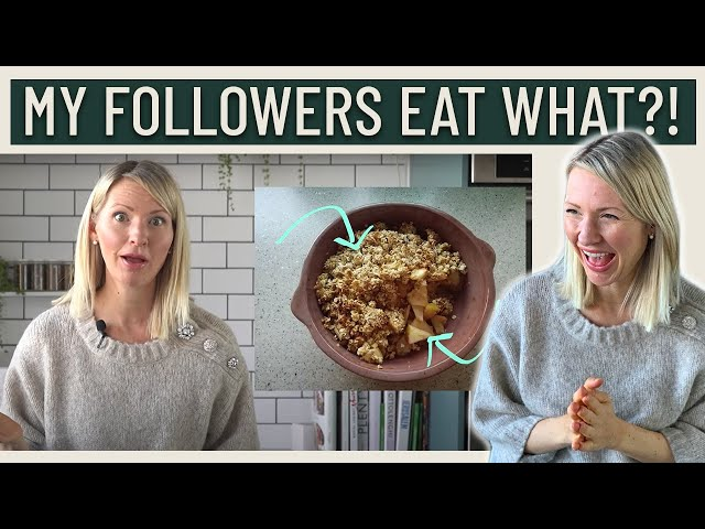 Dietitian Reacts to Subscribers' Cheap Diets (Are these low cost meals ACTUALLY worth eating…?!)