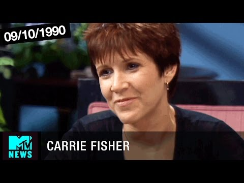 Carrie Fisher On Her Relationship With Her Mother, Debbie Reynolds | MTV News 1990 Full Interview