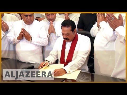Sri Lanka's Rajapaksa assumes duties as PM
