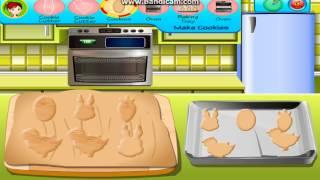 ОБЗОР ИГР: кухня Сары: сахарное печенье