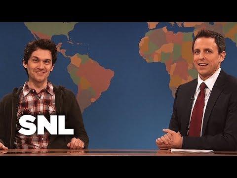 Weekend Update: James Franco on All His Jobs  SNL