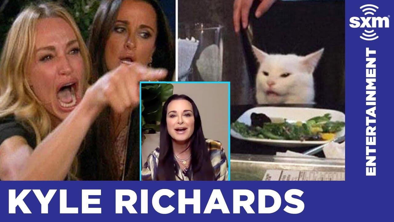 Kyle Richards on the Infamous Cat Meme