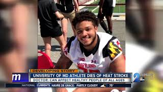 We now know what killed a 19-year-old University of Maryland footba...