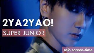 SUPER JUNIOR 슈퍼주니어 '2YA2YAO!' (Focus/Solo Screen-Time Rankin…